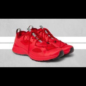 Arcteryx Norvan VT GTX Trail tuning shoe red
